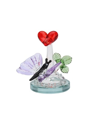 Somil Red Heart And Butterfly Decorative Showpiece - 14896249 - Standard Image - 2