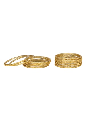 yellow glass bangle - 14896286 - Standard Image - 2
