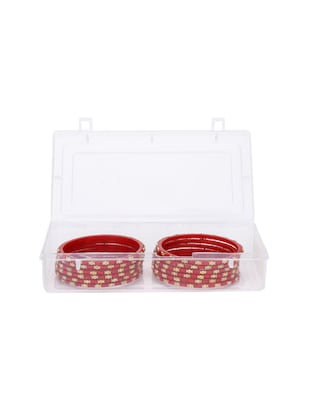 red glass bangle - 14896308 - Standard Image - 2