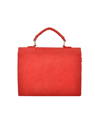 red leatherette handbag - 14898749 - Standard Image - 2