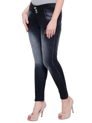 black denim jeans - 14901855 - Standard Image - 2
