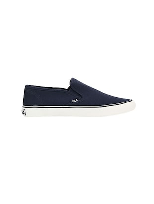 navy Canvas casual slipon - 14903290 - Standard Image - 2