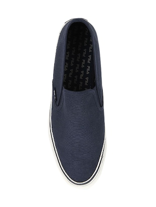 navy Canvas casual slipon - 14903290 - Standard Image - 5