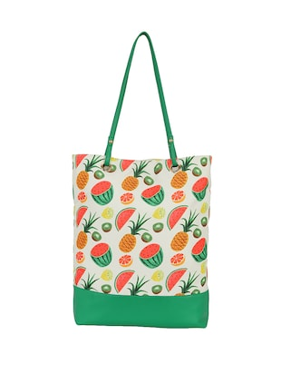 white canvas regular tote - 14903382 - Standard Image - 2
