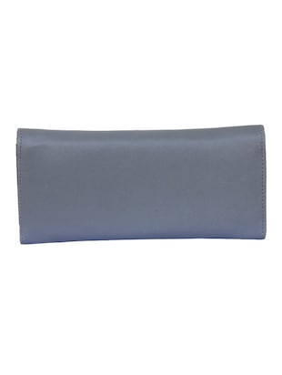 grey leatherette (pu) ethnic clutch - 14903424 - Standard Image - 2
