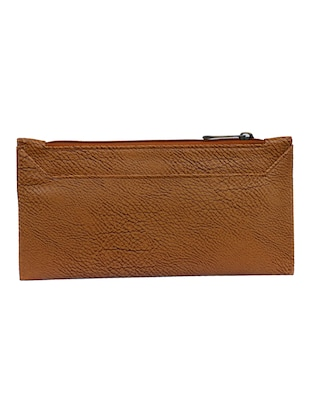 brown leatherette clutch - 14903438 - Standard Image - 2