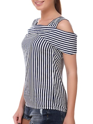 blue striped top - 14907884 - Standard Image - 2