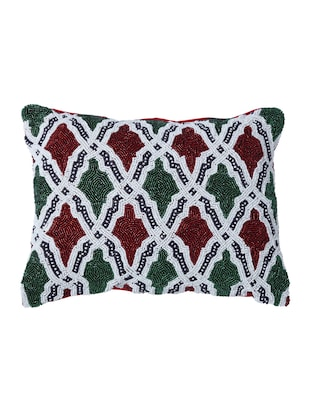 Set of 2 Embroidered Cushion Covers - 14908330 - Standard Image - 2