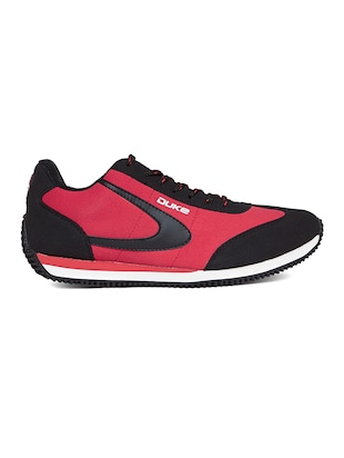 red leatherette sport shoe - 14912637 - Standard Image - 2