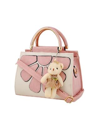 pink leatherette handbag - online shopping for handbags