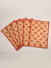 Dinner Table Mat Set Of 6 - 30 Cm X 45 Cm - By