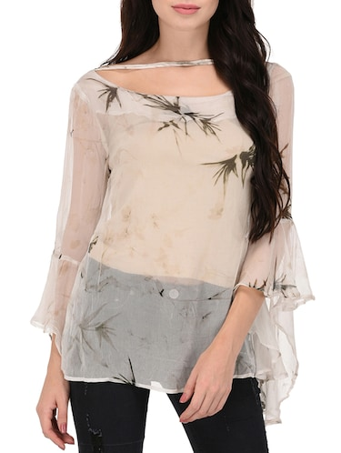 83507599d4f9c Buy white long tops for women in India   Limeroad