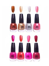 Makeup Mania Premium Nail Polish - set of 8 -  online shopping for polish