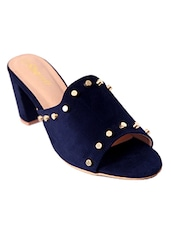 blue mules sandal -  online shopping for sandals