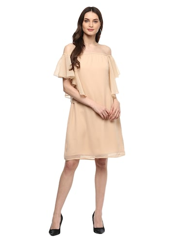 e15aeedaf3ec Buy Mint Green Off Shoulder Dress for Women from Athena for ₹1130 ...