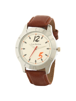 Time Machine round dial Analog Watch - 14965834 - Standard Image - 2