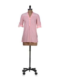 Light Pink Sequined Shirt - REME