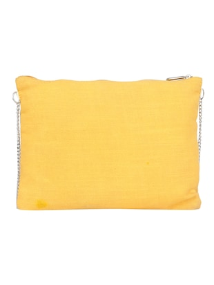 yellow cotton regular sling bag - 15017114 - Standard Image - 2