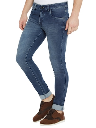 blue denim washed jeans - 15018993 - Standard Image - 2