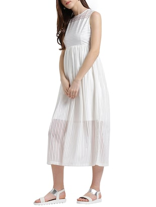 white striped dress - 15019180 - Standard Image - 2