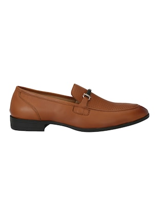 tan leatherette formal slip on - 15020383 - Standard Image - 2