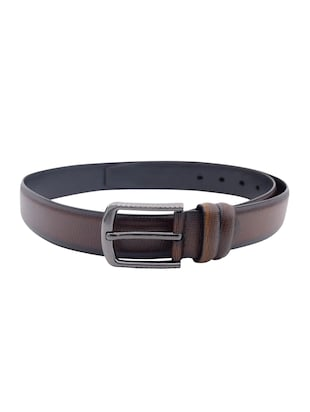 brown leather belt - 15021506 - Standard Image - 2