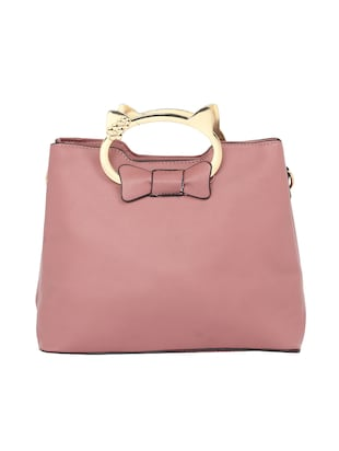 pink leatherette  regular sling bag - 15021660 - Standard Image - 2