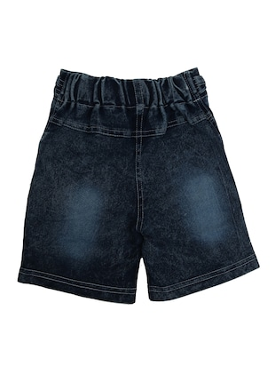 blue denim shorts - 15023717 - Standard Image - 2
