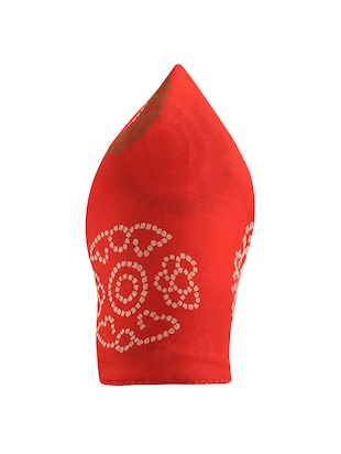 red silk pocketsquare - 15023994 - Standard Image - 2