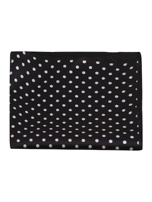 black polyester pocketsquare - 15024025 - Standard Image - 5