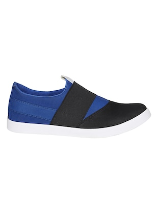 blue Canvas casual slipon - 15025474 - Standard Image - 2