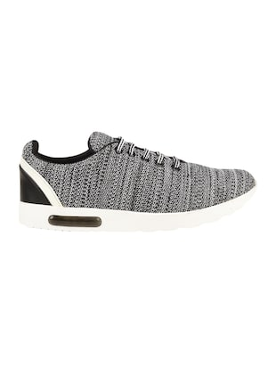 grey Mesh lace up sport shoe - 15027656 - Standard Image - 2