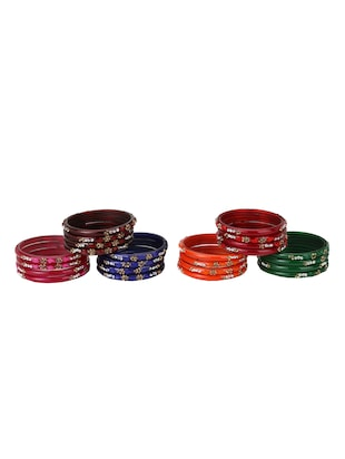 multi glass bangle - 15029123 - Standard Image - 2