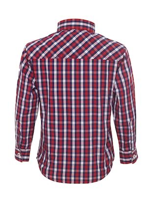 red cotton shirt - 15029718 - Standard Image - 2
