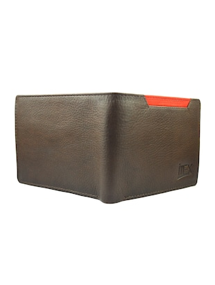 brown & red leather wallet - 15030490 - Standard Image - 2