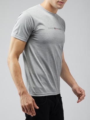 grey cotton t-shirt - 15030950 - Standard Image - 2