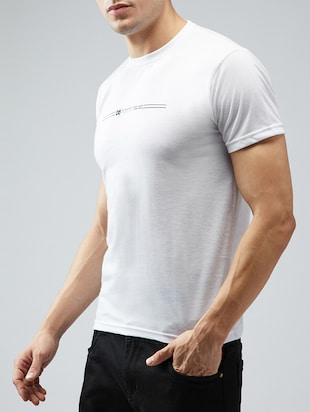 white cotton t-shirt - 15030951 - Standard Image - 2