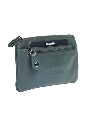green leather wallet - 15032668 - Standard Image - 2