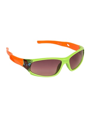 green polycarbonate sunglass - 15041906 - Standard Image - 2