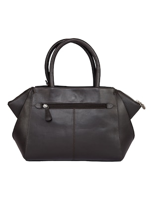 brown leather regular handbag - 15059307 - Standard Image - 2