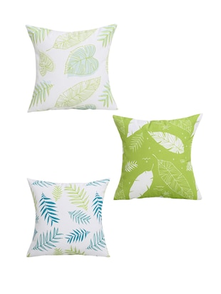 Set of 4 Polyester Cushion Covers - 15061627 - Standard Image - 2