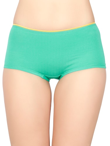low rise solid boy shorts - 15069993 - Standard Image - 1