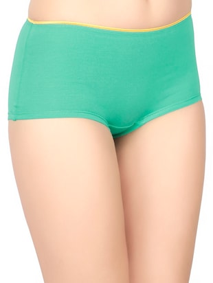 low rise solid boy shorts - 15069993 - Standard Image - 2