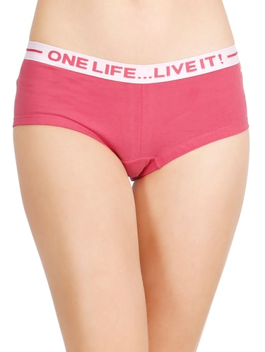 b8989c17260b Pink Cotton Thongs