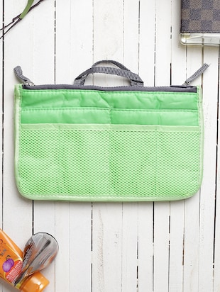 green polyester utility bag - 15083653 - Standard Image - 5