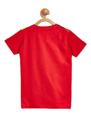 red cotton tshirt - 15093831 - Standard Image - 2