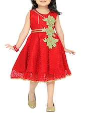 red net frock -  online shopping for frocks
