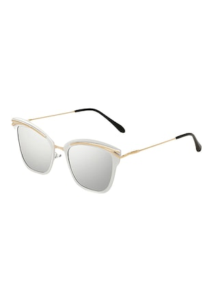 Cat-Eye Unisex Sunglasses Twin-Beam Frame - 15110900 - Standard Image - 2