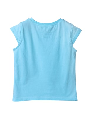 blue cotton top - 15112420 - Standard Image - 2