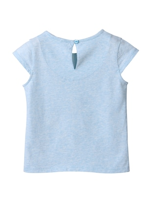 blue cotton top - 15112421 - Standard Image - 2